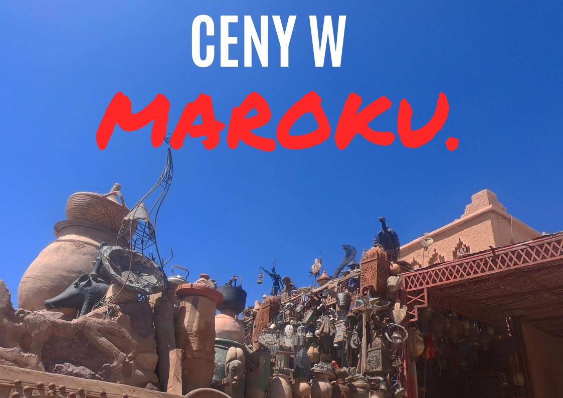 Ceny w Maroku