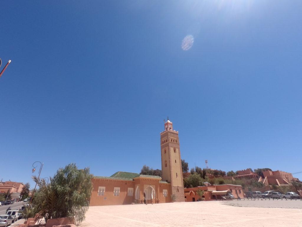 podróż do maroka meczet