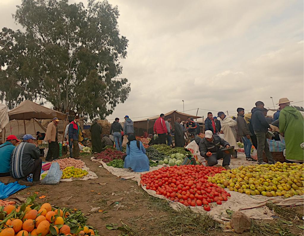 Ceny w Maroku Souk