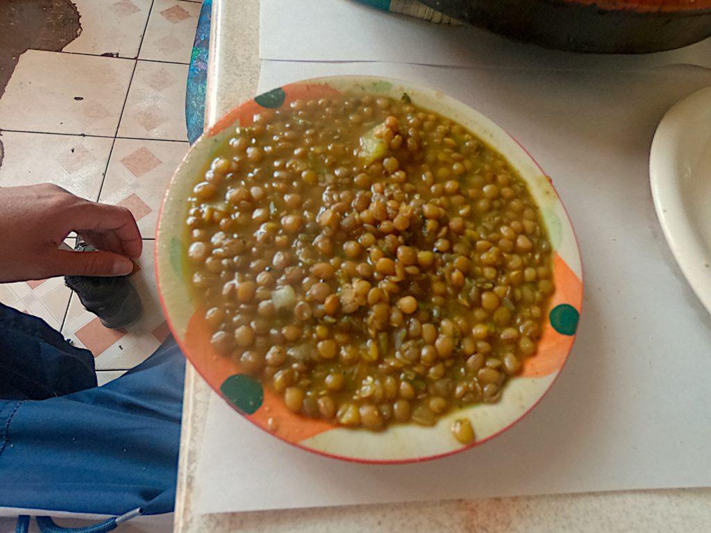 wegańskie jedzenie Maroko